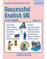 Successful English 5B - Australian Homeschooling Series (Item No. 537)