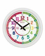 EasyRead Time Teacher Rainbow Classroom Clock
