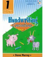 Handwriting Conventions 1 (NSW Foundation Handwriting Style)