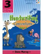 Handwriting Conventions 3 (NSW Foundation Handwriting Style)