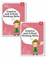 Maths Challenge Creative & Critical Thinking Skills Level 4 Bundle