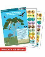 Gamilaraay Merit Stickers (10 pack)