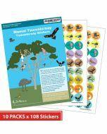Yuwaalaraay Merit Stickers (10 Pack)