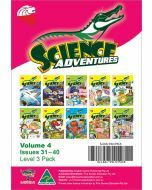 Science Adventures Issues 31-40 Level 3 Pack (Ages 10-12)
