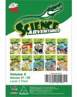 Science Adventures Issues 41-50 Level 2 Pack (Ages 9-10)