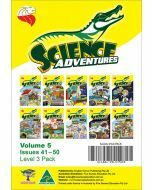 Science Adventures Issues 41-50 Level 3 Pack (Ages 10-12)