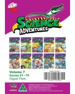 Science Adventures Issues 61-70 Digest Pack (Ages 10-12)
