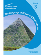 A very good literacy focus on Mathematics Book 3: The Language of Shape and Measurement