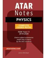 ATAR Notes: Year 11 Physics Complete Course Notes