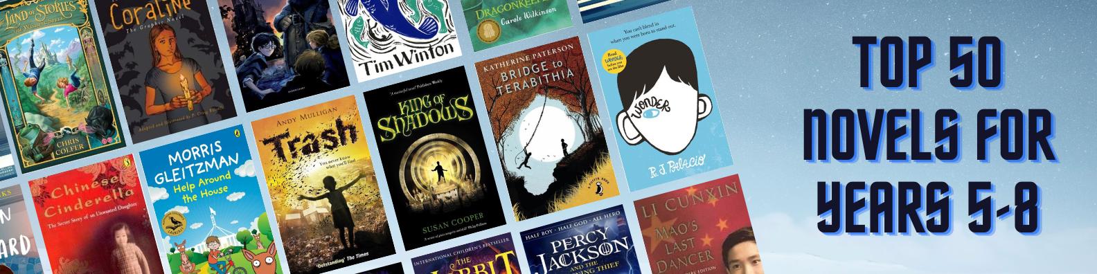 Top 50 Middle Fiction Novels
