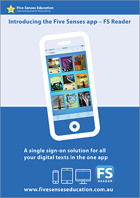 Download the Five Senses Reader flyer